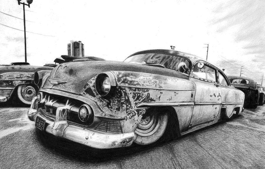 Roncs autó